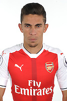 ST ALBANS, ENGLAND - AUGUST 03: (EXCLUSIVE COVERAGE)  Gabriel of Arsenal at the 1st team photocall at London Colney on August 3, 2016 in St Albans, England.  (Photo by Stuart MacFarlane/Arsenal FC via Getty Images)