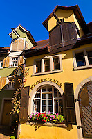 The medieval city of Meersburg on Lake Constance (Bodensee), Baden-Württemberg, Germany
