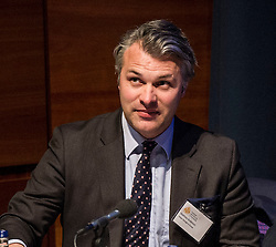 Pictured: Matthew Anderson<br /> <br /> The Institute and Faculty of Actuaries hosted a flagship European Union referendum debate for around 250 delegates in Edinburgh tonight. Speakers at the event were Matthew Anderson, member of the Advisory Board - Britain Stronger in Europe, Jim Sillars, former deputy leader of the SNP, Jo Shaw, Salvesen Chair of European Institutions, Nigel Griffiths, Labour Leave Scotland and former deputy leader of the House of Commons Nigel Griffiths and  David Bell, Professor of Economics, University of Stirling.<br /> Ger Harley | EEm 5 April 2016
