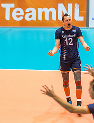 06-09-2018 NED: Netherlands - Argentina, Doetinchem<br /> First match of Gelderland Cup / Tim Smit #12 of Netherlands
