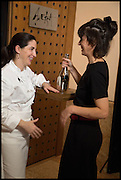 ELENA ARZAK; HELENA RIZZO, Veuve Clicquot World's Best Female chef champagne tea party. Halkin Hotel. Halkin St. London SW1. 28 April 2014.