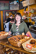 Hanna Withers of Little Bread Company in Fayetteville shot for Sells Agency and Fayetteville Advertising and Promotions