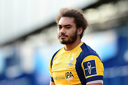 Chris Vui of Worcester Warriors - Mandatory by-line: Dougie Allward/JMP - 04/02/2017 - RUGBY - BT Sport Cardiff Arms Park - Cardiff, Wales - Cardiff Blues v Worcester Warriors - Anglo Welsh Cup