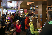Moonlight Creamery in Fairport hosted the seventh annual Ice Cream for Breakfast fundraiser on Saturday, February 7, 2015.