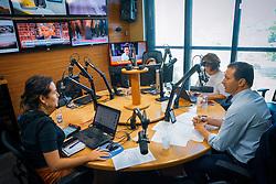Porto Alegre, RS 07/02/2020: O prefeito, Nelson Marchezan Júnior concede entrevista ao programa Gaúcha Atualidade, direto dos estúdios da Rádio Gaúcha, na manhã desta sexta-feira (07). O prefeito é entrevistado pelas jornalistas Andressa Xavier, Rosane de Oliveira e Carolina Bahia. Foto: Jefferson Bernardes/PMPA