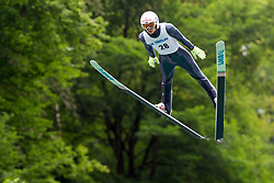 Mikhail Nazarov from Russia during Ski Jumping Continental Cup Kranj 2018, on July 8, 2018 in Kranj, Slovenia. Photo by Urban Urbanc / Sportida