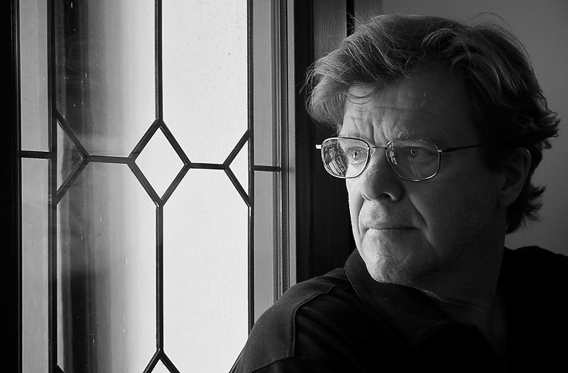 A Portrait of Photographer and Photojournalist Joe McNally at the Ala Hotel in Venice