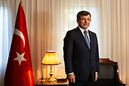 Ahmet Davutoglu portraits