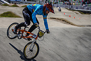 16 Boys #209 (MANOSCA MUNOZ Juan Felipe) COL at the 2018 UCI BMX World Championships in Baku, Azerbaijan.
