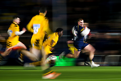Max Boxall of Worcester Cavaliers runs with the ball - Mandatory by-line: Robbie Stephenson/JMP - 16/12/2019 - RUGBY - Sixways Stadium - Worcester, England - Worcester Cavaliers v Wasps A - Premiership Rugby Shield