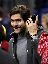 Chelsea's Marcos Alonso in the crowd during the NBA London Game 2018 at the O2 Arena, London.
