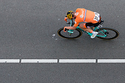 TEUNISSEN from Mike NETHERLANDS during Men Elite Road Race 2019 UEC European Road Championships, Alkmaar, The Netherlands, 11 August 2019. <br /> <br /> Photo by Pim Nijland / PelotonPhotos.com <br /> <br /> All photos usage must carry mandatory copyright credit (Peloton Photos | Pim Nijland)