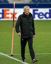 19.10.2016, Red Bull Arena, Salzburg, AUT, UEFA EL, FC Red Bull Salzburg vs OGC Nizza, Gruppe I, Training, im Bild Trainer Lucien Favre (OGC Nizza) // Coach Lucien Favre (OGC Nizza) during Trainingssession before the UEFA Europa League group I match between FC Red Bull Salzburg and OGC Nizza at the Red Bull Arena in Salzburg, Austria on 2016/10/19. EXPA Pictures © 2016, PhotoCredit: EXPA/ JFK