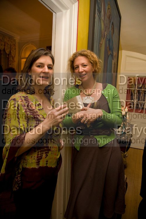 EMILY TODHUNTER; SAMANTHA WEINBERG, Book launch for American's in Paris by Charles Glass hosted by Lady Annabel Lindsay. Holland Park. London. 25 March 2009 *** Local Caption *** -DO NOT ARCHIVE-© Copyright Photograph by Dafydd Jones. 248 Clapham Rd. London SW9 0PZ. Tel 0207 820 0771. www.dafjones.com.<br /> EMILY TODHUNTER; SAMANTHA WEINBERG, Book launch for American's in Paris by Charles Glass hosted by Lady Annabel Lindsay. Holland Park. London. 25 March 2009