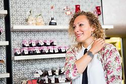 Ilka Stuhec during Milka press conference, on October 3, 2017 in Lolita Cake Shop, Ljubljana, Slovenia. Photo by Vid Ponikvar / Sportida