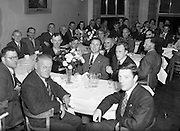 22/07/1952<br /> 07/22/1952<br /> 22 July 1952<br /> Irish Chess Championships at Newman House, St Stephen's Green, Dublin. Dinner and presentation of prizes.
