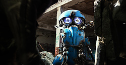 Sqweeks in TRANSFORMERS: THE LAST KNIGHT, from Paramount Pictures.