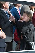 Koningsdag in Dordrecht / Kingsday in Dordrecht<br /> <br /> Op de foto / On the photo: <br /> <br />  Koning Willem-Alexander en Prinses Amalia /// King Willem-Alexander and Princess Amalia