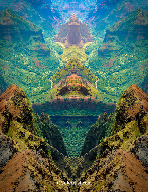 Waimea Canyon is known as the Grand Canyon in the Pacific. It has also been known as the Garden of Eden, where all things are possible. Any time you are in need, you will be provided for.  Abundance is yours as long as you believe in it. Use this piece to pray with and you will be delighted at what unfolds.<br />