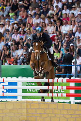 Shane Rose, (AUS), CP Qualified - Jumping Eventing - Alltech FEI World Equestrian Games™ 2014 - Normandy, France.<br /> © Hippo Foto Team - Leanjo De Koster<br /> 31-08-14