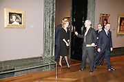 Charles Saumeraz Smith and H.R.H. The Infanta Dona Cristina de Borbon Velasquez private view, Sainsbury Wing, National Gallery,16 October 2006. DO NOT ARCHIVE-© Copyright Photograph by Dafydd Jones 66 Stockwell Park Rd. London SW9 0DA Tel 020 7733 0108 www.dafjones.com