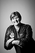 Mari Poe Lesniak<br /> Air Force<br /> O-5<br /> C-130 Navigator<br /> Apr. 23, 1984 - Sept. 30, 2010<br /> Desert Shield, Bosnia, Southern Watch<br /> <br /> Veterans Portrait Project<br /> Fayetteville, NC