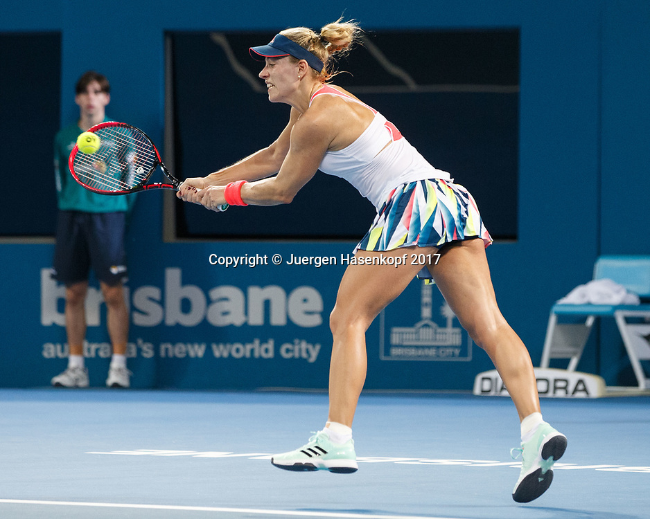 ANGELIQUE KERBER (GER)<br /> <br /> Tennis - Brisbane International  2017 - WTA -  Pat Rafter Arena - Brisbane - QLD - Australia  - 4 January 2017. <br /> &copy; Juergen Hasenkopf