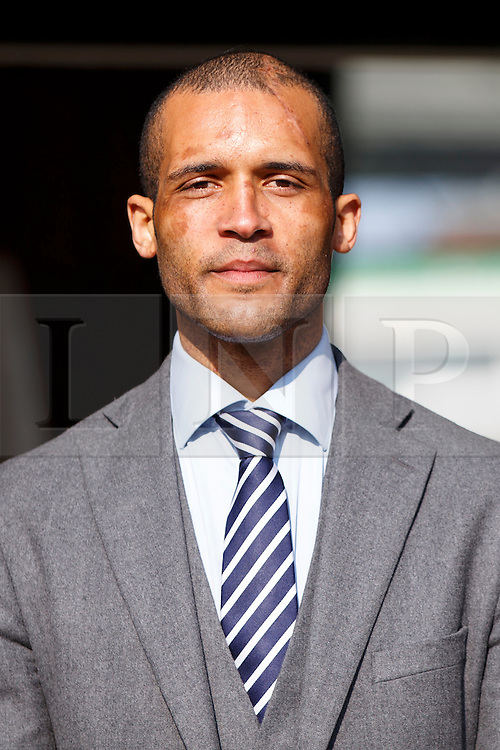 © Licensed to London News Pictures. 25/03/2015. LONDON, UK. Footballer Clarke Carlisle joins Deputy Prime Minister Nick Clegg to launch a charter to tackle mental health discrimination in sports at Oval Cricket Ground in London on Wednesday, 25 March 2015. Rugby Football Union, English Cricket Board and the Football Association, have all committed to sign the charter committing to removing the stigma and prejudice around mental health from the world of sport. Photo credit : Tolga Akmen/LNP