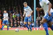 Bury attacker Ryan Lowe (39) dribbling during the EFL Sky Bet League 1 match between Southend United and Bury at Roots Hall, Southend, England on 30 April 2017. Photo by Matthew Redman.