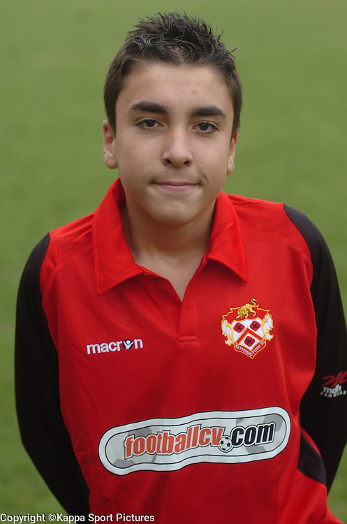PAOLO DYRMISHI, Kettering Town Football Club, Youth Team Pen Pics 2011 Academy