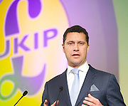 UKIP Annual Party Conference <br /> 26th September 2014 <br /> at Doncaster Racecourse, Great Britain <br /> <br /> <br /> Steven Woolfe MEP<br /> <br /> <br /> <br /> Photograph by Elliott Franks <br /> Image licensed to Elliott Franks Photography Services