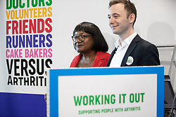 © Licensed to London News Pictures . 23/09/2018. Liverpool, UK. DIANE ABBOTT MP at the first day of the 2018 Labour Party Conference at the Arena and Convention Centre in Liverpool . Photo credit: Joel Goodman/LNP