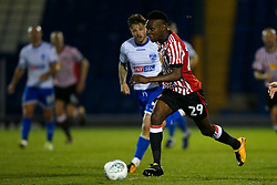 Joel Asoro of Sunderland attacks - Mandatory by-line: Matt McNulty/JMP - 10/08/2017 - FOOTBALL - Gigg Lane - Bury, England - Bury v Sunderland - Carabao Cup - First Round