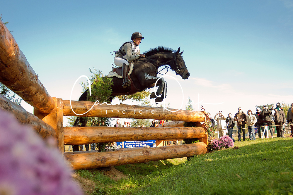 Jung Michael (GER) - Rocana<br /> World Championship Young Eventing Horses 6 years<br /> Le Lion d'ANgers 2011<br /> &copy; Dirk Caremans