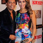 NLD/Amsterdam/20121112 - Beau Monde Awards 2012, Hedwig Vigelandzoon en Glennis Grace