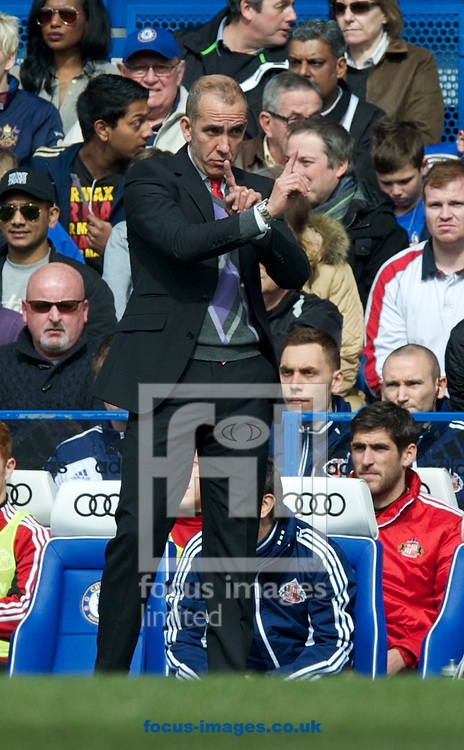 Picture by Alan Stanford/Focus Images Ltd +44 7915 056117.07/04/2013.x of Chelsea and y of Sunderland during the Barclays Premier League match at Stamford Bridge, London.