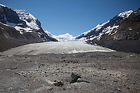 The Foot of Athabasca Glacier / Columbia Icefield, Jasper National Park, Alberta, Canada