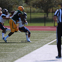 Football: St. Norbert College Green Knights vs. University of Wisconsin-Eau Claire  Blugolds