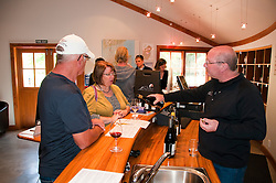 New Zealand, South Island, Marlborough, winery touring and tasting of Nautilus Estate Sauvignon Blanc and Pinot Noir wine. Photo copyright Lee Foster. Photo #126234