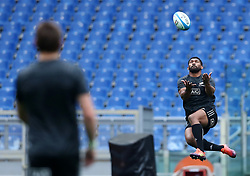 November 23, 2018 - Rome, Italy - Rugby All Blacks captains run - Cattolica Test Match.Waisake Naholo at Olimpico Stadium in Rome, Italy on November 23, 2018. (Credit Image: © Matteo Ciambelli/NurPhoto via ZUMA Press)