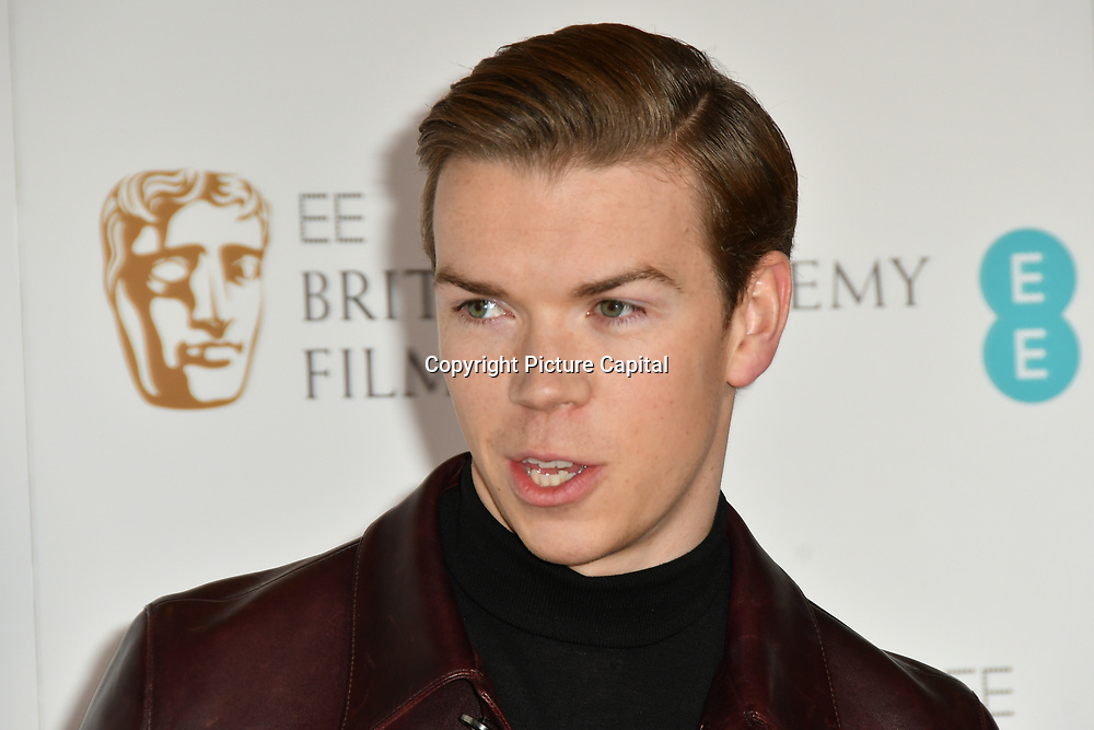 Will Poulter attends the EE BAFTA Film Awards Nominations Announcement on 9 january 2019, london, UK.