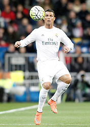 20.03.2016, Estadio Santiago Bernabeu, Madrid, ESP, Primera Division, Real Madrid vs Sevilla FC, 30. Runde, im Bild Real Madrid's Cristiano Ronaldo // during the Spanish Primera Division 30th round match between Real Madrid and Sevilla FC at the Estadio Santiago Bernabeu in Madrid, Spain on 2016/03/20. EXPA Pictures © 2016, PhotoCredit: EXPA/ Alterphotos/ Acero<br /> <br /> *****ATTENTION - OUT of ESP, SUI*****