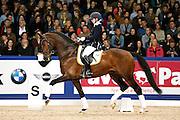Mirelle van Kemenade Witlox - Decor Cachet L<br /> KWPN Hengstenkeuring 2013<br /> © DigiShots