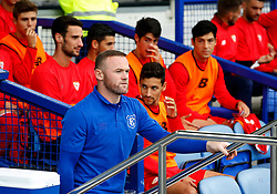 Sevilla players look on as Everton's Wayne Rooney walks out on to the pitch - Mandatory by-line: Matt McNulty/JMP - 06/08/2017 - FOOTBALL - Goodison Park - Liverpool, England - Everton v Sevilla - Pre-season friendly