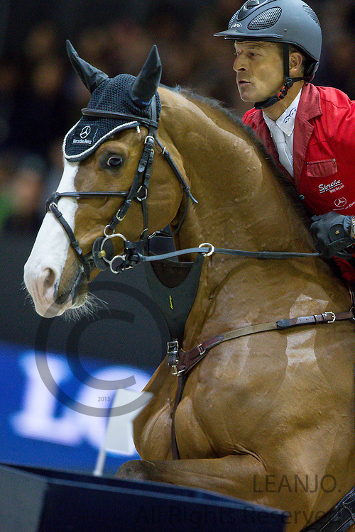 Pius Schwizer - Toulago<br /> FEI World Cup Final 2014<br /> &copy; DigiShots