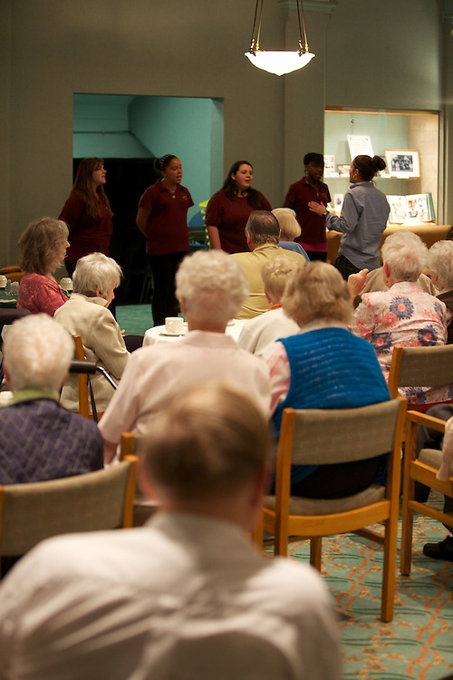 Youth Fusion James Lyng students sing for residents of Victoria Hall