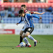 Tim Chow during the Sky Bet Championship match between Wigan Athletic and Brighton and Hove Albion at the DW Stadium, Wigan, England on 18 April 2015.