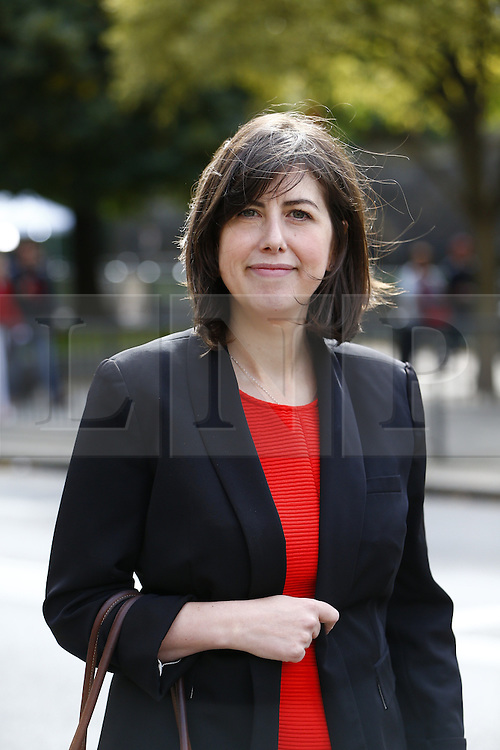 © Licensed to London News Pictures. 14/09/2015. London, UK. Labour Party's new shadow education secretary Lucy Powell arriving at House of Parliament on Monday, September 14, 2015. Photo credit: Tolga Akmen/LNP
