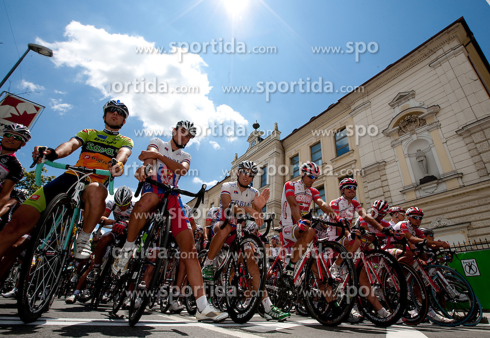 Peloton during cycling race 44th Grand Prix Kranj - Filip Majcen Memorial 2011, UCI Cat. 1.1 (177,3 km), on July 2, 2011, in Slovenia. (Photo by Vid Ponikvar / Sportida)