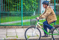 O projeto Frota Sustentável, que oportuniza aos servidores municipais da Prefeitura de Canoas o uso da bicicleta para o deslocamento entre as unidades da administração. FOTO: André Feltes/ Agência Preview
